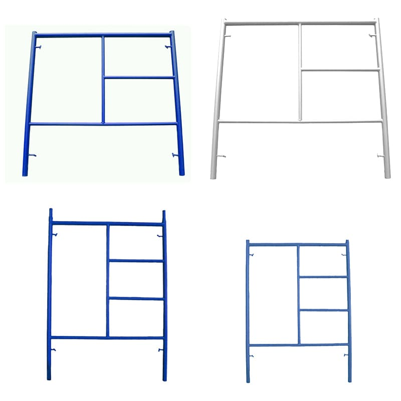 Building construction Galvanized steel ladder frame scaffold