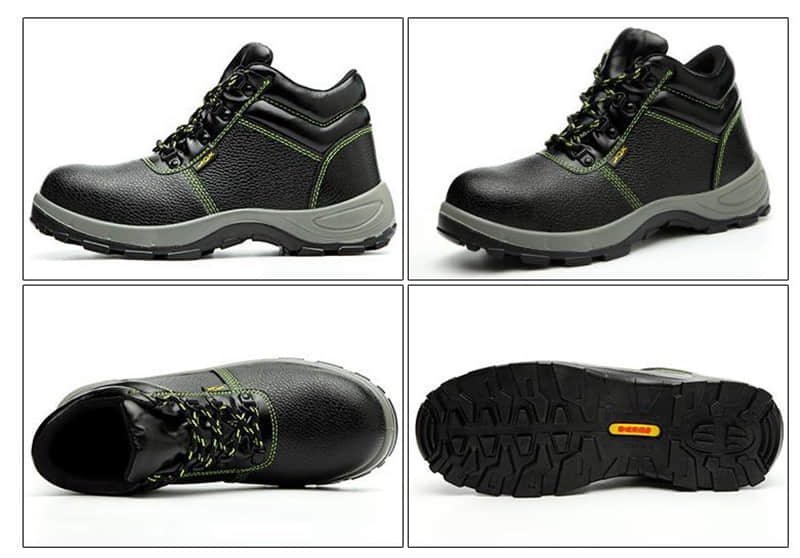 Rubber Sole Chemical Resistant Safety Shoes