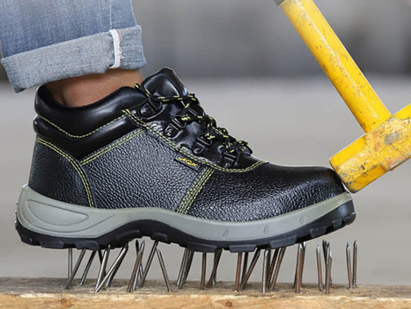 steel toe puncture proof Safety shoes