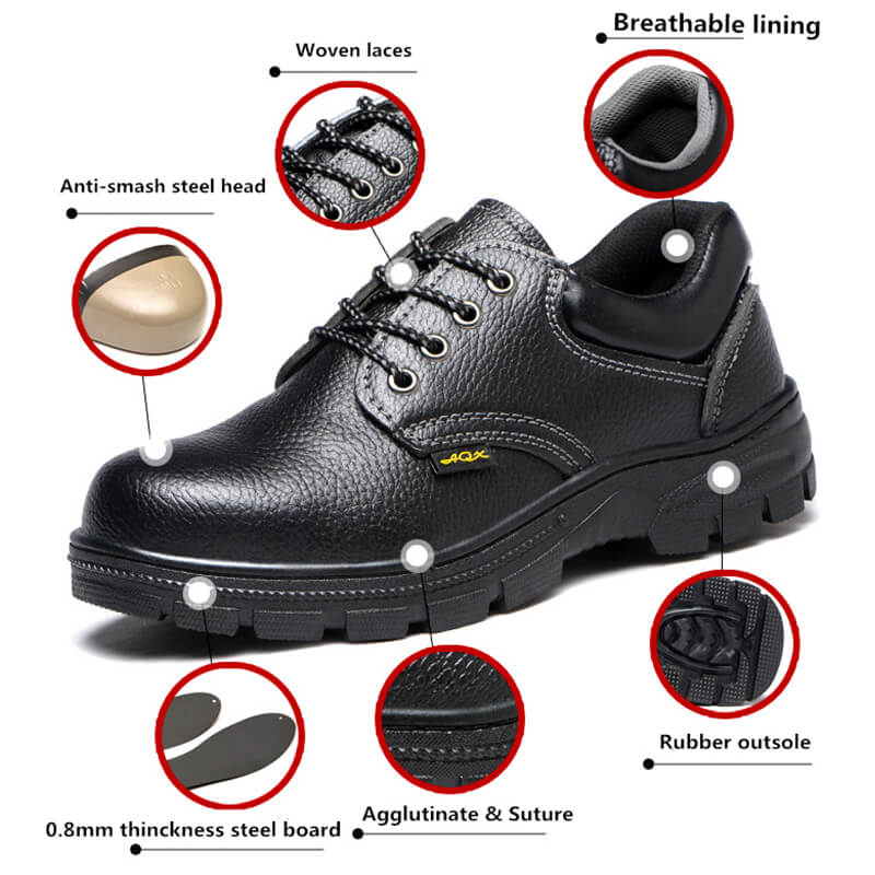Breathable Steel Toe Safety Shoes