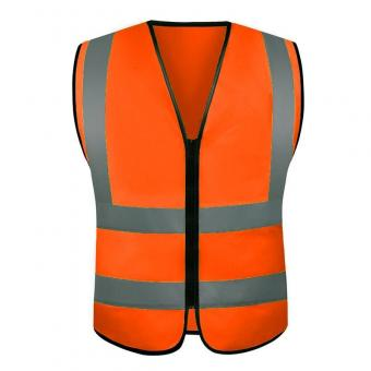Worker's High Visibility Safety Vest
