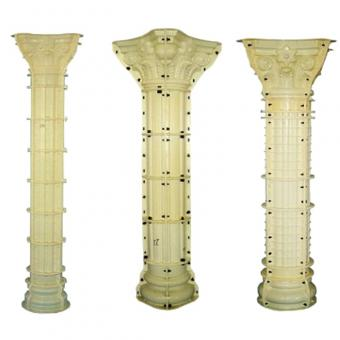 Building material concrete roman column mould