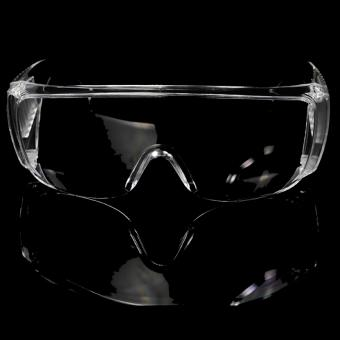 Breathable anti slpash safety glasses