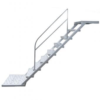 Construction Galvanized scaffolding step ladder