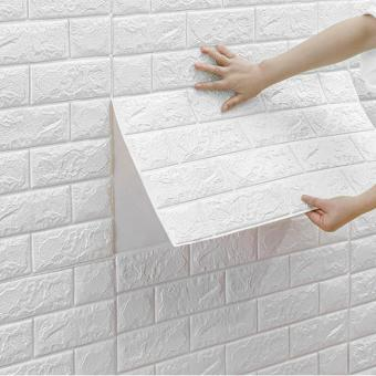 3D brick Foam Wallpapers