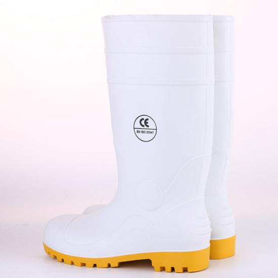 men rubber Safety Boots
