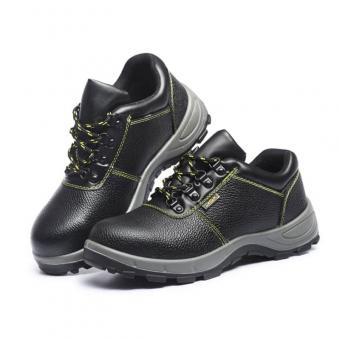 steel toe worker safety shoes