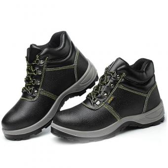 anti skid puncture proof work safety shoes